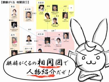 大河【麒麟がくる】相関図で出演者・キャストを戦国オタクが分かりやすく解説!