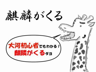 大河ドラマ【麒麟がくる!】歴オタがあらすじや人物を初心者向けに解説するぜ!